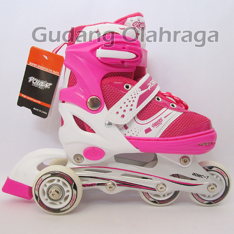 Jual Sepatu Roda Bajaj Power Superb Sol (Jahit)   Inline Skate Anak ... 9f2721ed9c