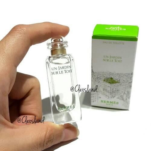Jual Parfum Original Miniature Hermes Un Jardin Sur Le Toit EDT 7.5 ... 41c073af72