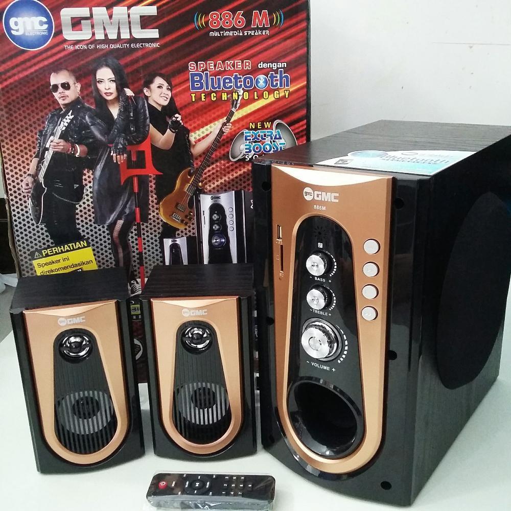 Jual Speaker Aktif Gmc 886 Bluetoth Bekasi Electromart Tokopedia 886m