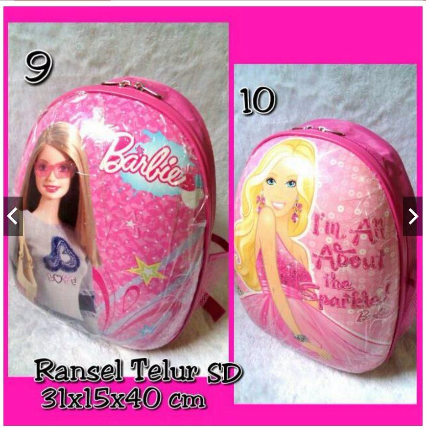 harga Tas Ransel Anak SD Bentuk Telur Anak Barbie ( Murah, Grosir, Terbaru) Tokopedia.com