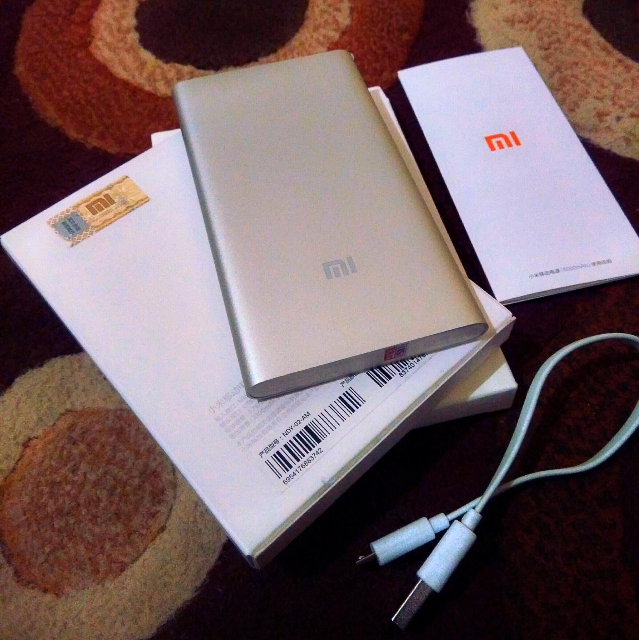Jual Terbaru Powerbank Xiaomi Slim 5000mah Original 100 Real 99000mah Stainless
