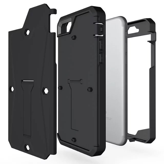 Apple Iphone 7 7S PLUS Premium Tough Armor Tank Case Rugged Heavy Duty