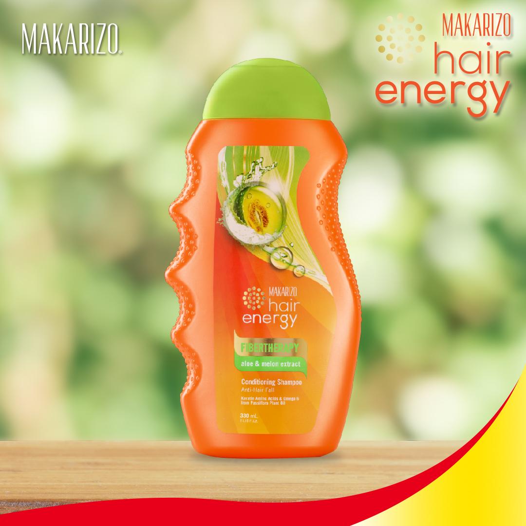 Makarizo Hair Energy Shampoo Sachet Aloe And Melon Extract 12 Fibertherapy 500 Gr 330 Ml Ampamp Creambath Royal Jelly 30 Source 6