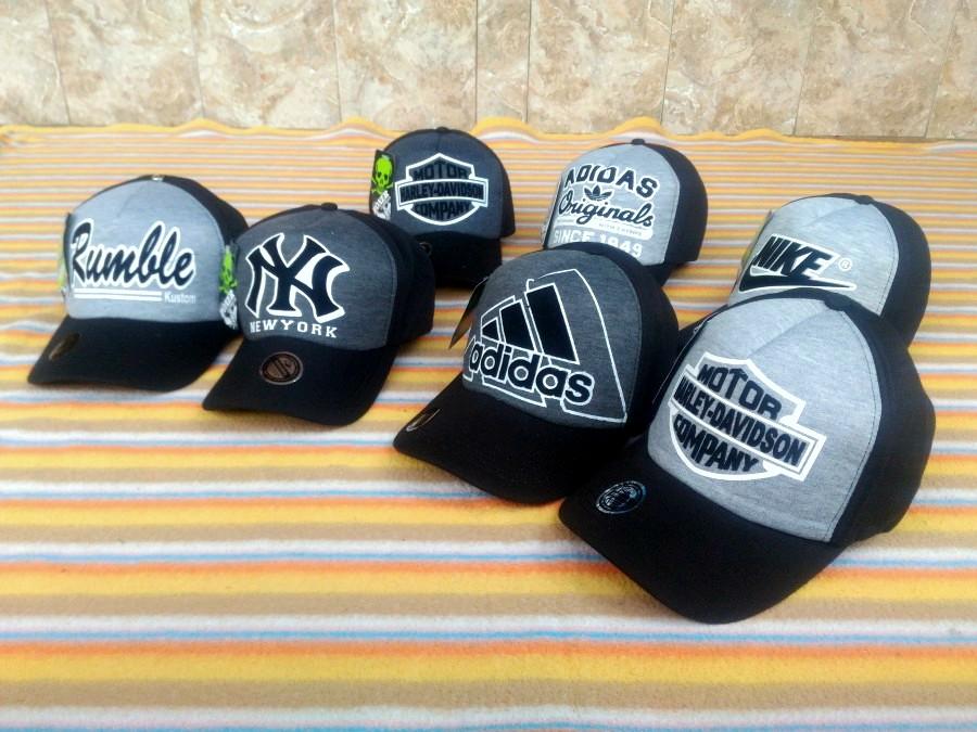 harga Topi Boxar Hitam Abu Grey Adidas Nike Harley Rumble Newyork NY Tokopedia.com