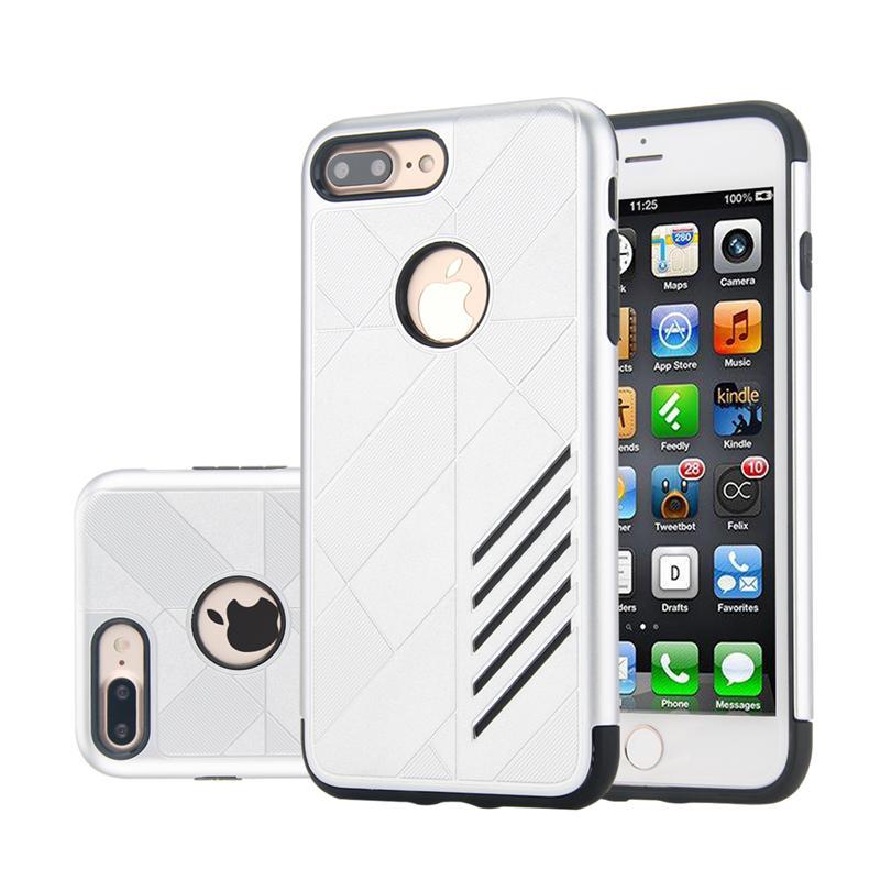 Apple iPhone 5 5S SE Shark Stripe Elegant Dual Layer Armor Case