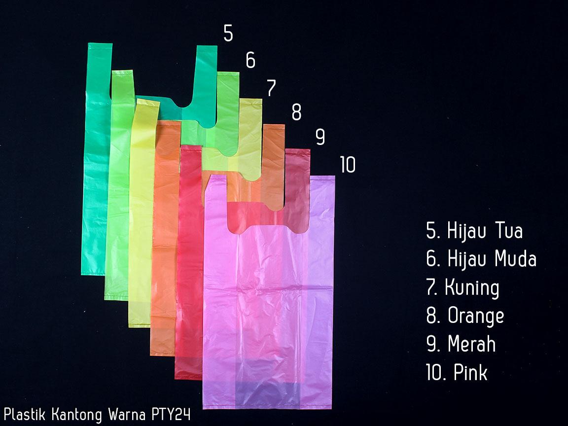 Jual Tas Plastik Kemasan Souvenir Kantong Warna Pty 24 Kuriro Merah Tokopedia
