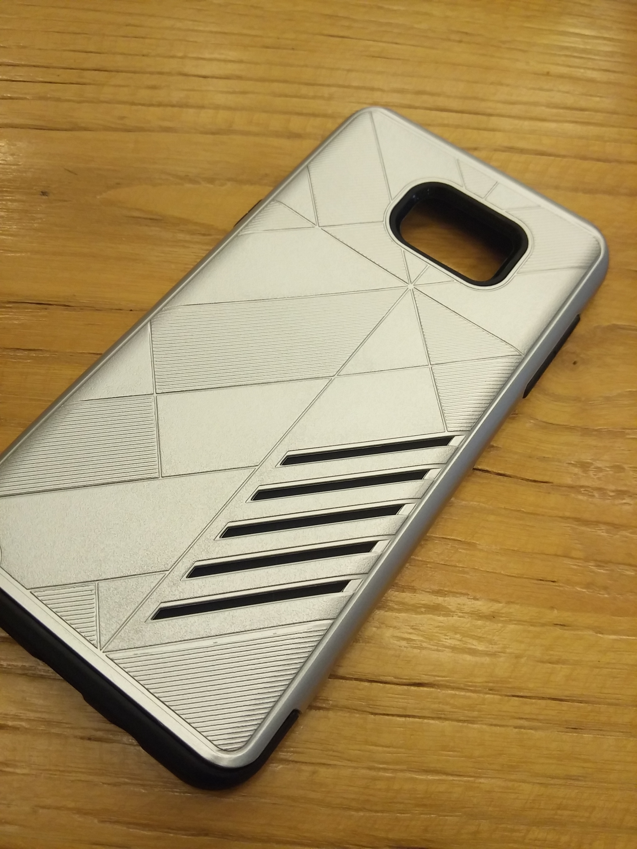 Samsung Galaxy Note 5 Shark Stripe Elegant Dual Layer Armor Case