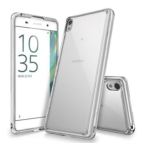 Ringke Sony Xperia XA Fusion Case Casing - Clear Transparan