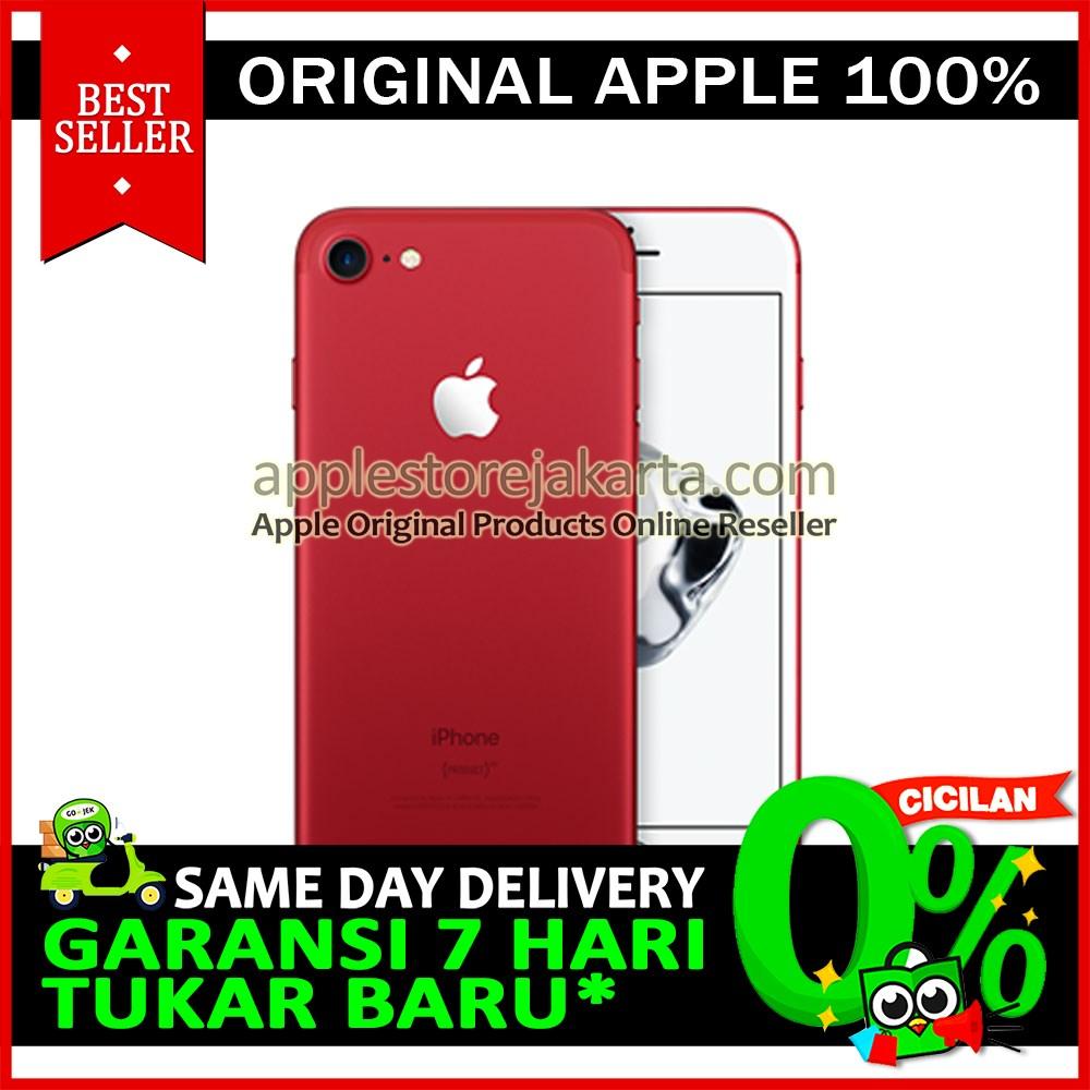 Jual Red Edition Iphone 7 128gb New Garansi Resmi Internasional Re Applestore Jakarta Tokopedia