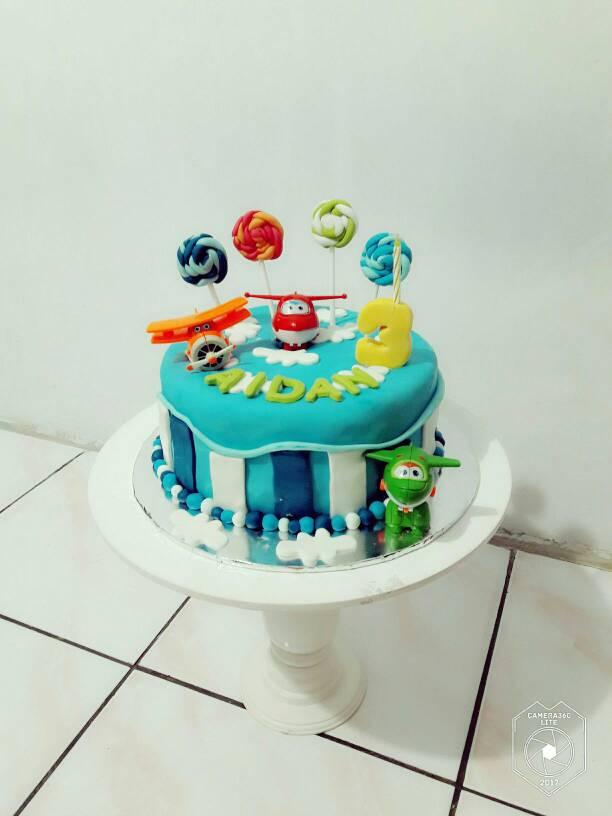 jual kue ulang tahun super wings   novlauwcake tokopedia