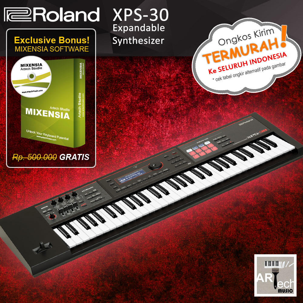 Jual Roland XPS-30 / XPS30 Expandable Synthesizer Keyboard