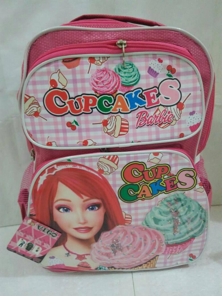 harga Tas ransel sekolah sd barbie cupcakes pink Tokopedia.com