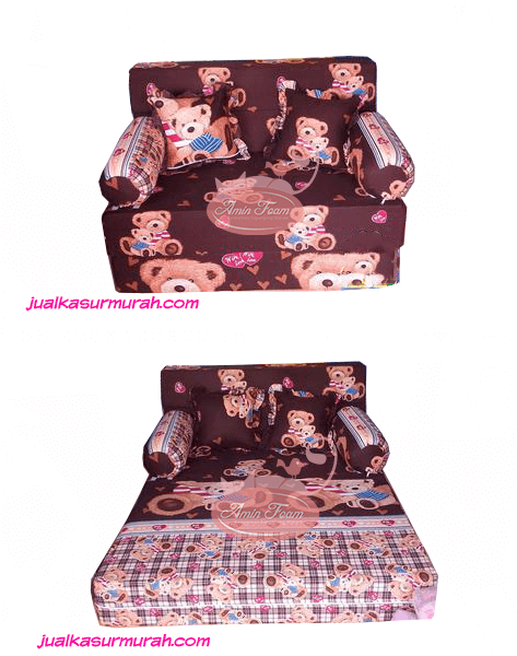 Sofabed Busa INOAC uk 200x120x20 cm, Busa Berkualitas Dan Mutifungsi