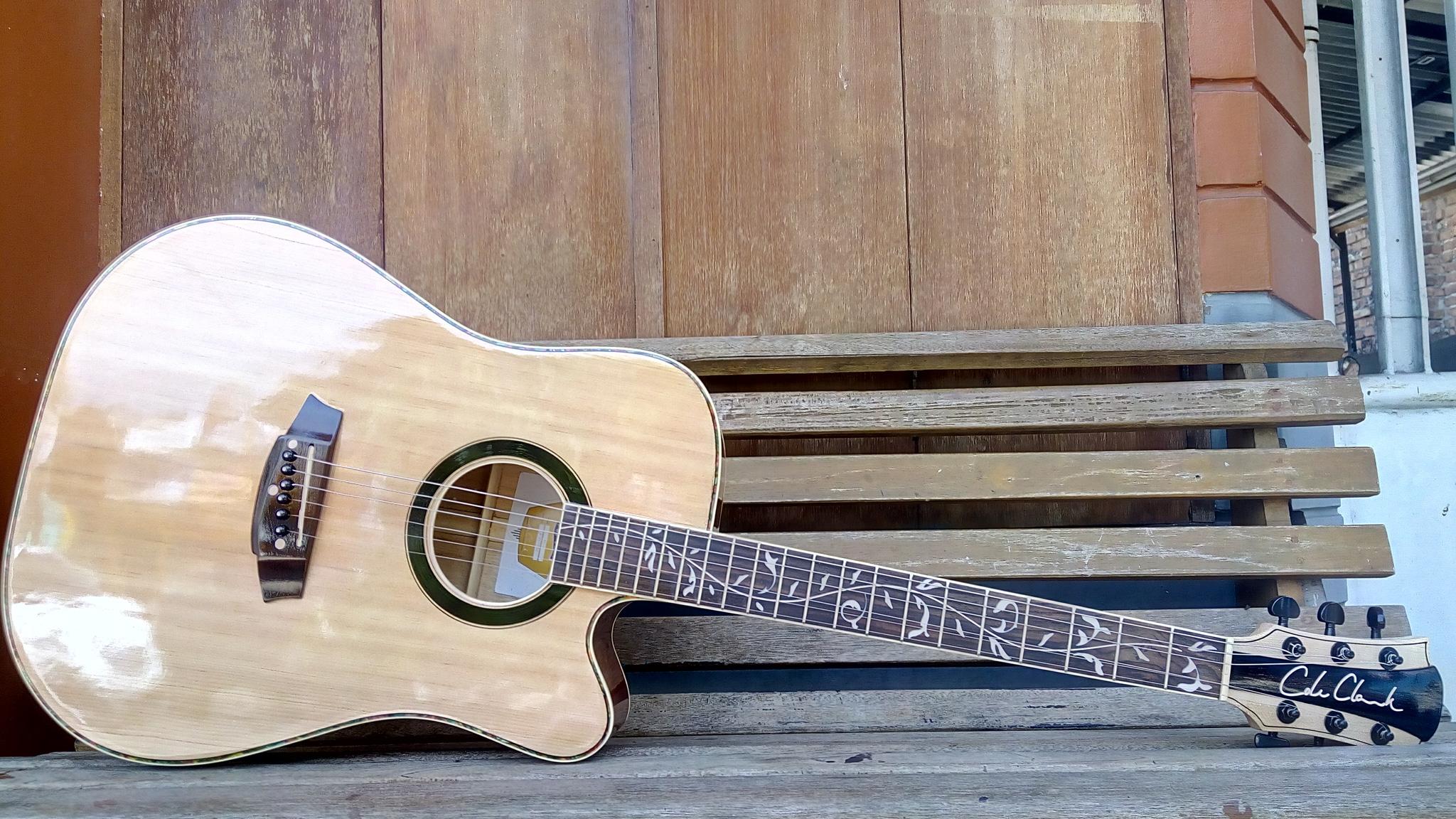 Jual Gitar Akustik Cole Clark Neck Maple Canada Garansi 1tahun Pick Kerang Toko Kondang Tokopedia