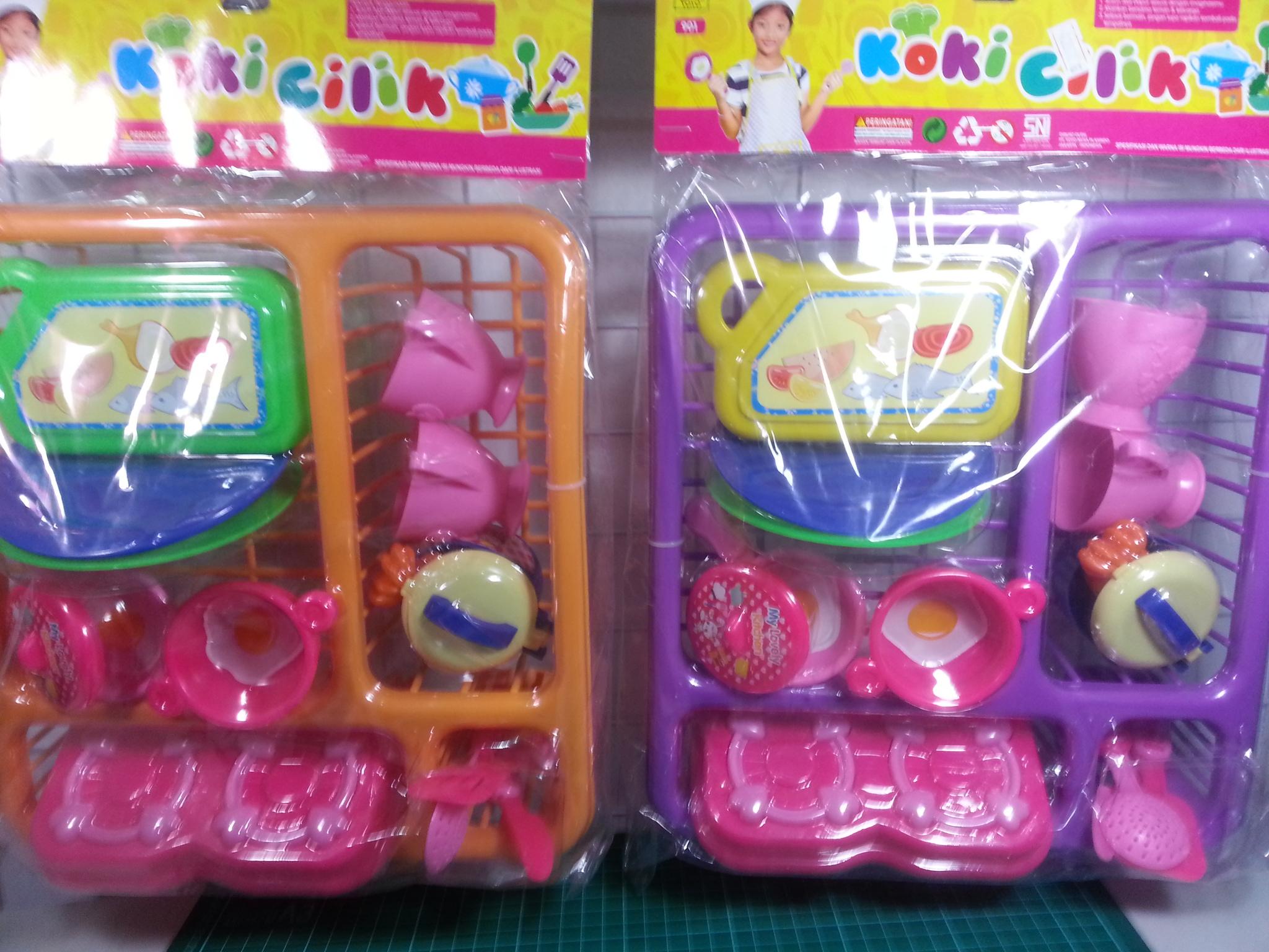 ... Ulasan Produk MAINAN EDUKATIF ANAK KOKI CILIK MAINAN MASAK MASAKKAN toys empire Tokopedia