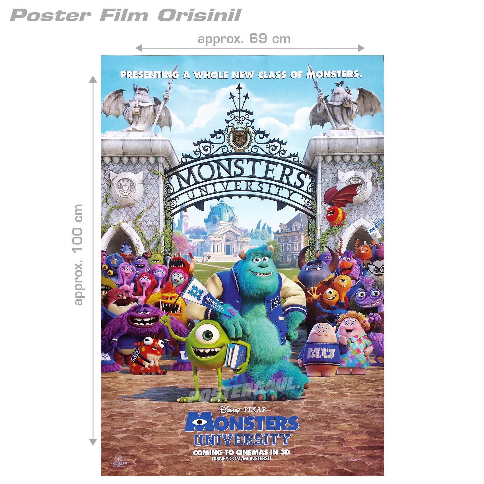 Movie Poster Logan Original Indonesian One Sheet 69 X 100 Cm Bagelen Wonder Butter Toples B Jual Monsters University