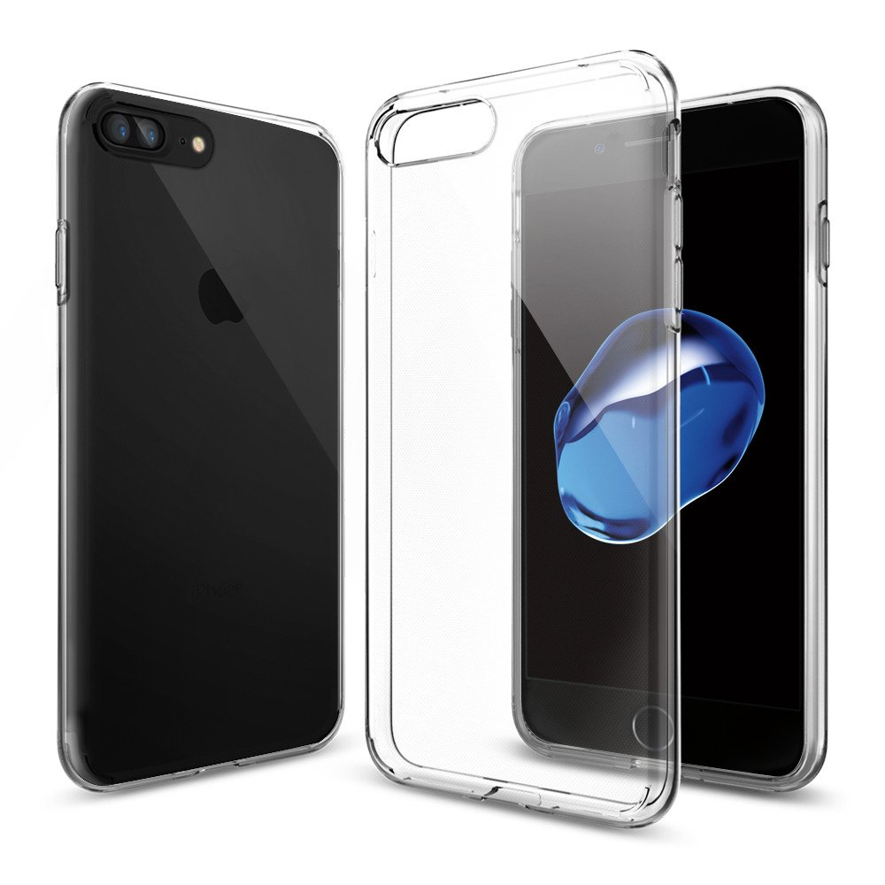 Spigen iPhone 7 Plus Case Liquid Crystal Casing - Clear