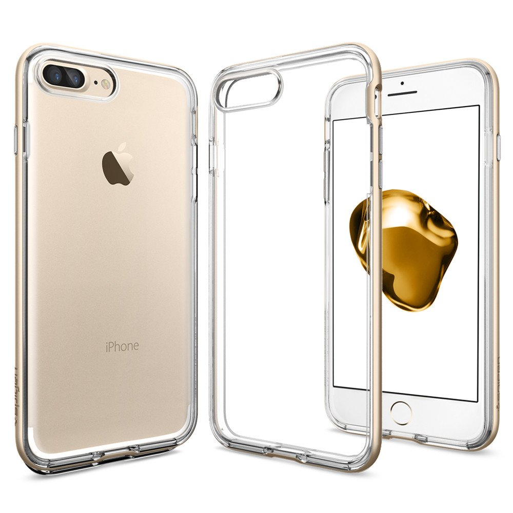 Spigen iPhone 7 Plus Case Neo Hybrid Crystal - Gold