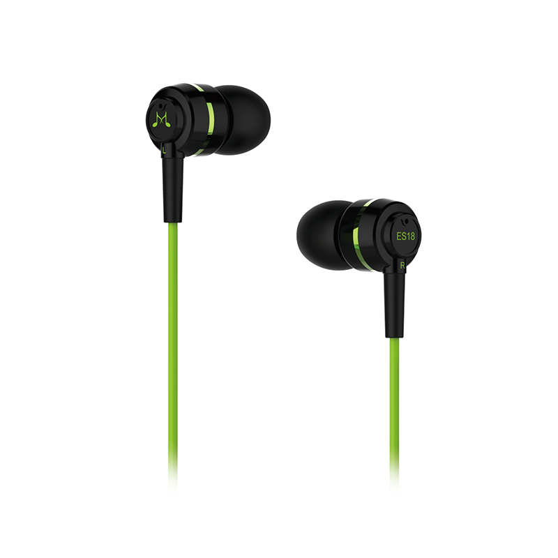 harga Soundmagic Es18 In Ear Headphone Headset Earphone Tanpa Microphone Original Garansi 1 Tahun - Green Blanja.com