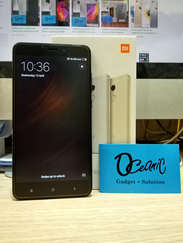 Xiaomi Redmi Note 4 Ram 3gb Internal 64gb Garansi Distributor Brad Grs Jual New 4gb Distri 1 Thn