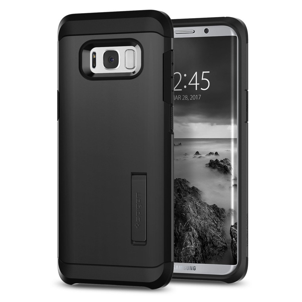 Aksesoris Samsung Jual Gadget Android Hp Ume Tempered Glass Xiaomi Redmi Note 4 4x Spigen Galaxy S8 Plus Case Tough Armor Casing Black