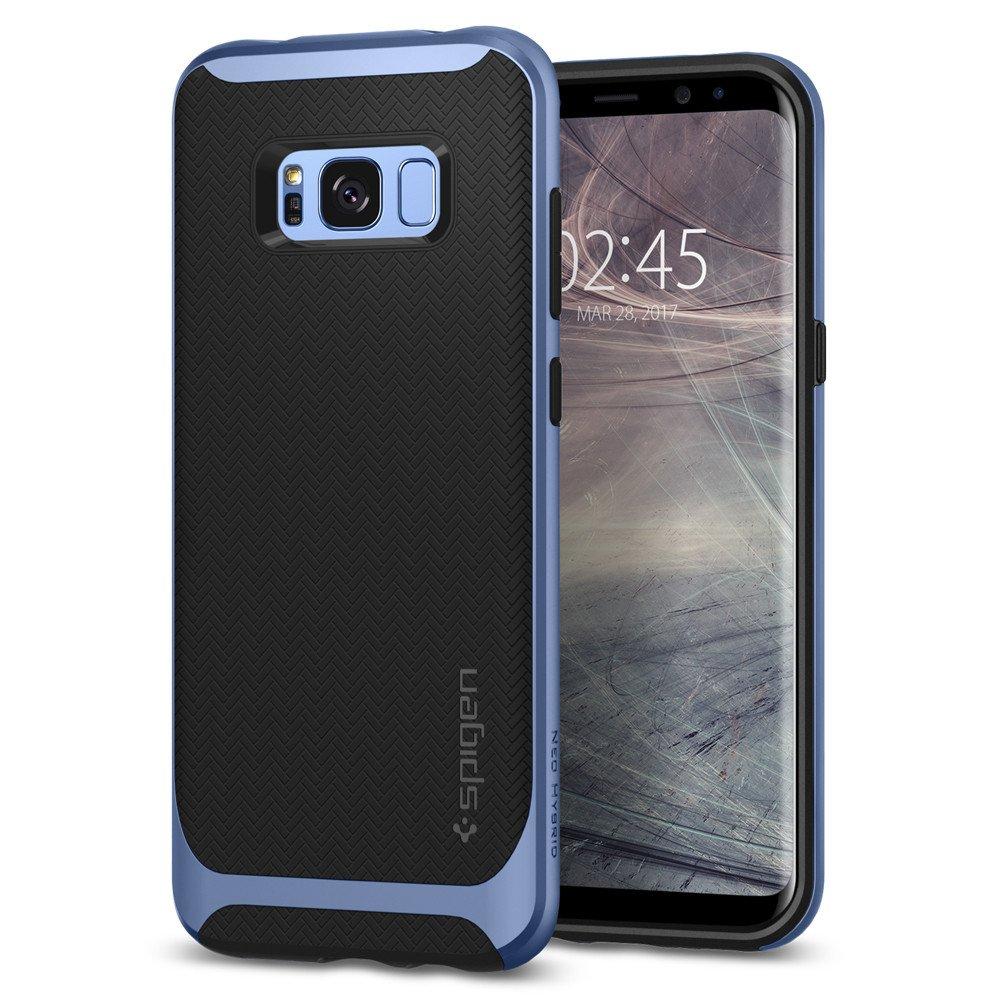 Spigen Samsung Galaxy S8 Case Neo Hybrid Casing - Blue Coral