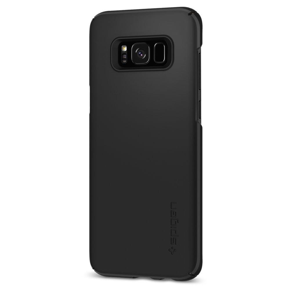Spigen Samsung Galaxy S8 Case Thin Fit Casing - Black