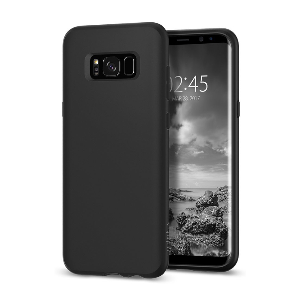 Spigen Samsung Galaxy S8 Case Liquid Crystal Casing - Matte Black