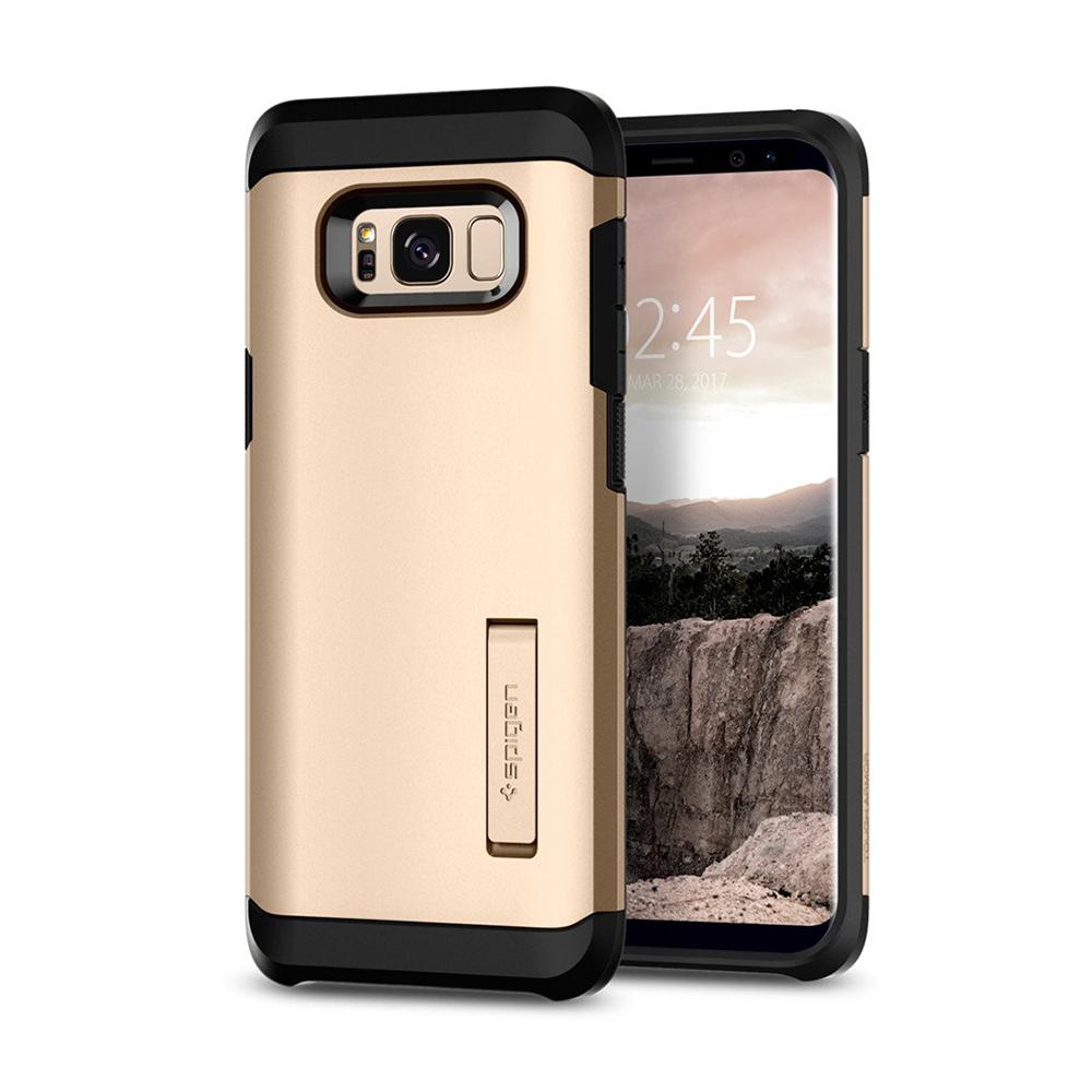 Spigen Samsung Galaxy S8 Case Tough Armor Casing - Gold Maple
