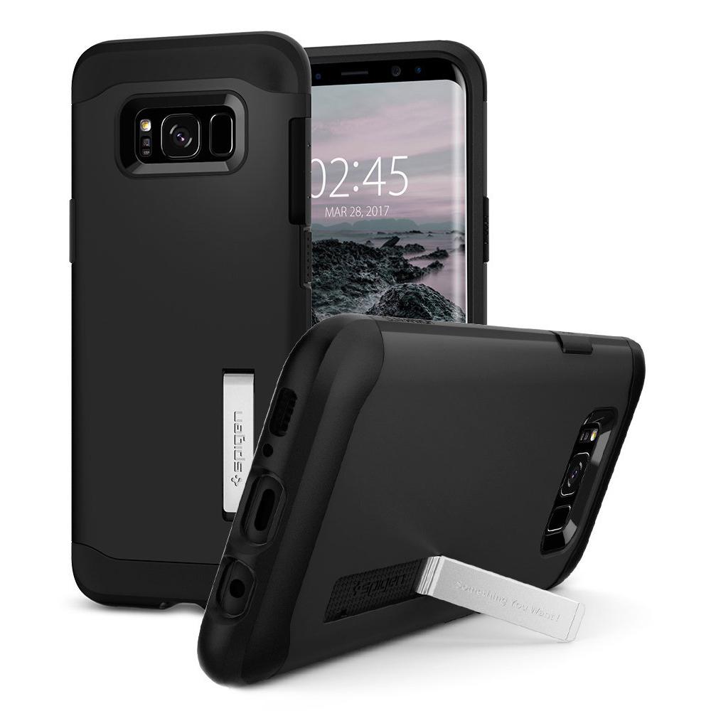 Spigen Samsung Galaxy S8 Case Slim Armor Casing - Black