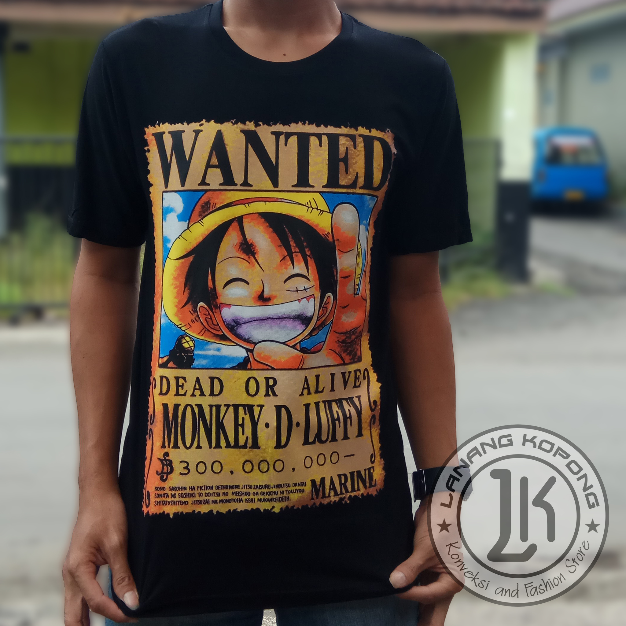 Jual Poster Buronan One Piece Gratis Ongkir