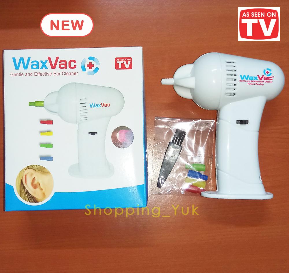Jual WaxVac Ear Cleaner Vacuum BONUS BATRE Penyedot Kotoran Telinga Shopping Yuk Tokopedia .