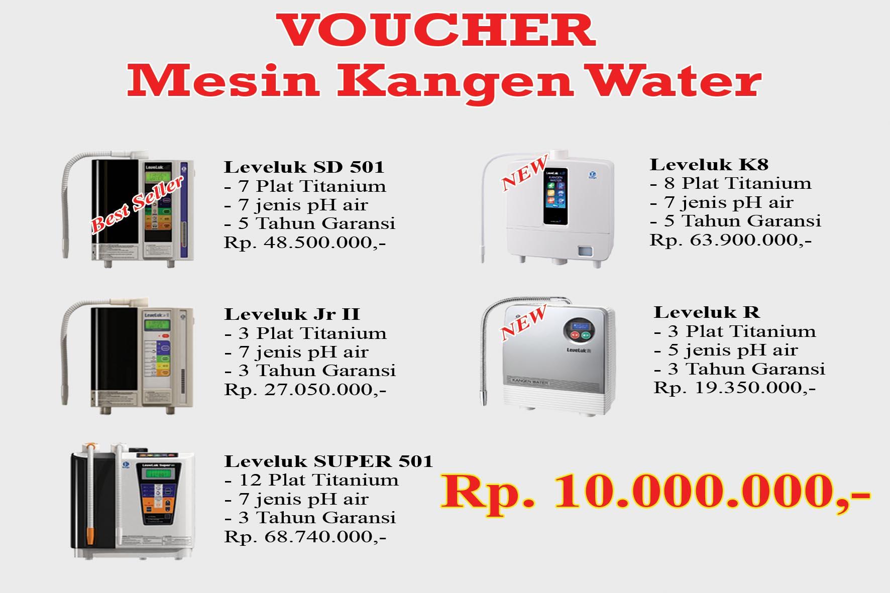 MURAH voucher mesin kangen water 10000 K f3f5137bb1