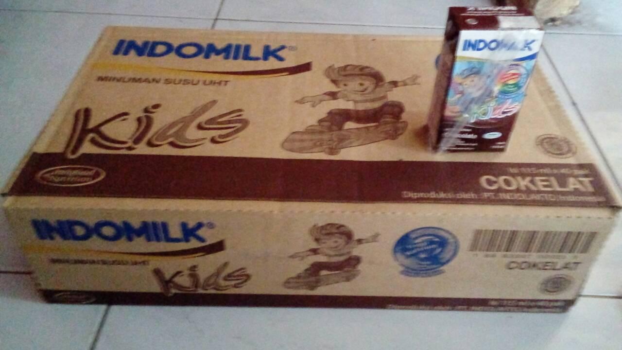 Jual Susu Uht Kids Indomilk 115ml Ofhp Di Tokopedia Isi 40 Kotak