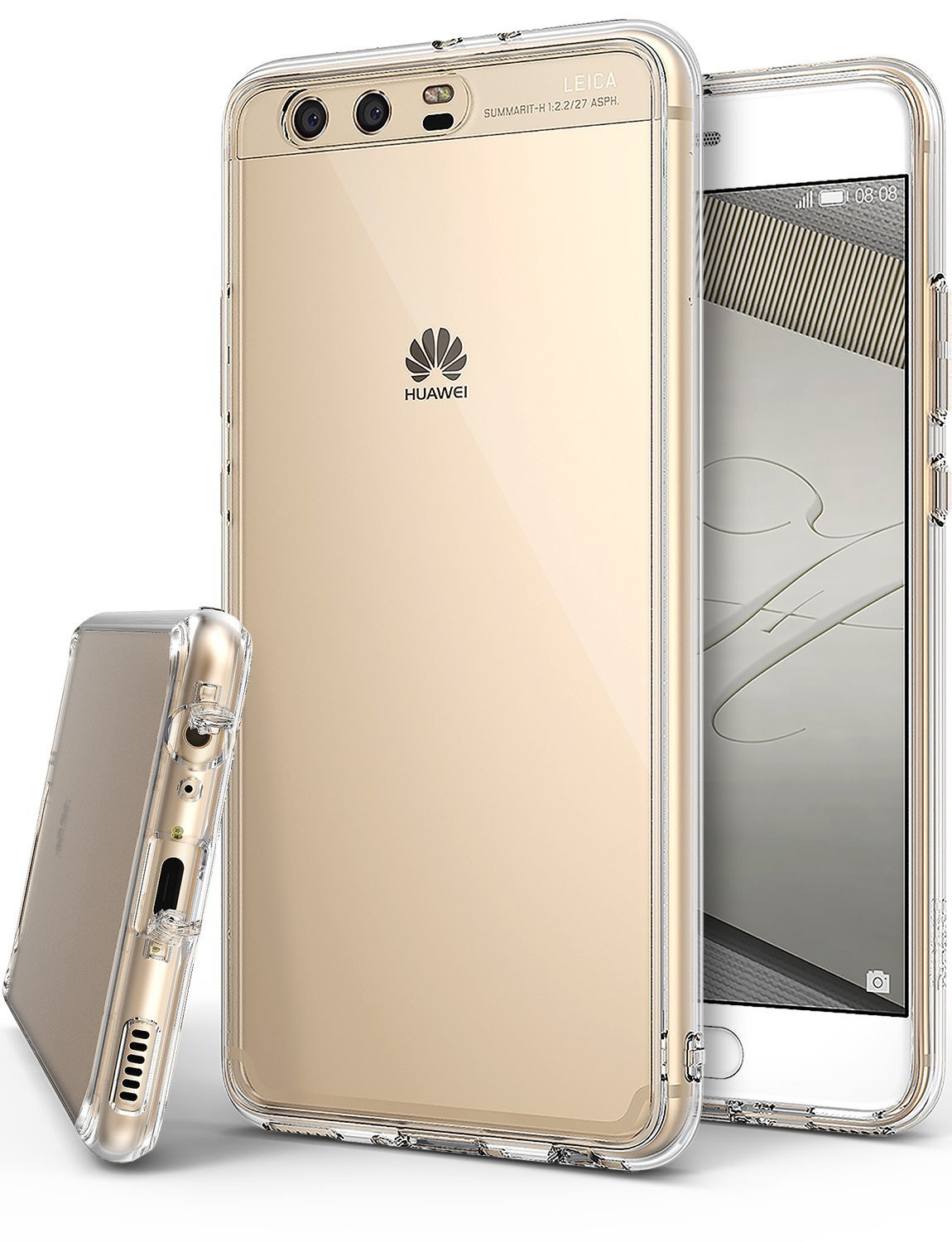 Rearth Ringke Huawei P10 Plus Case Fusion - Clear