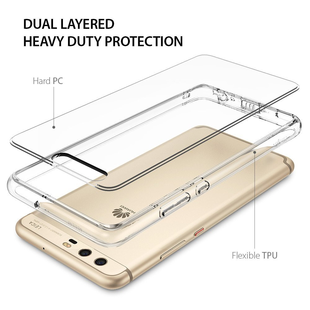 Rearth Ringke Huawei P10 Case Fusion - Clear