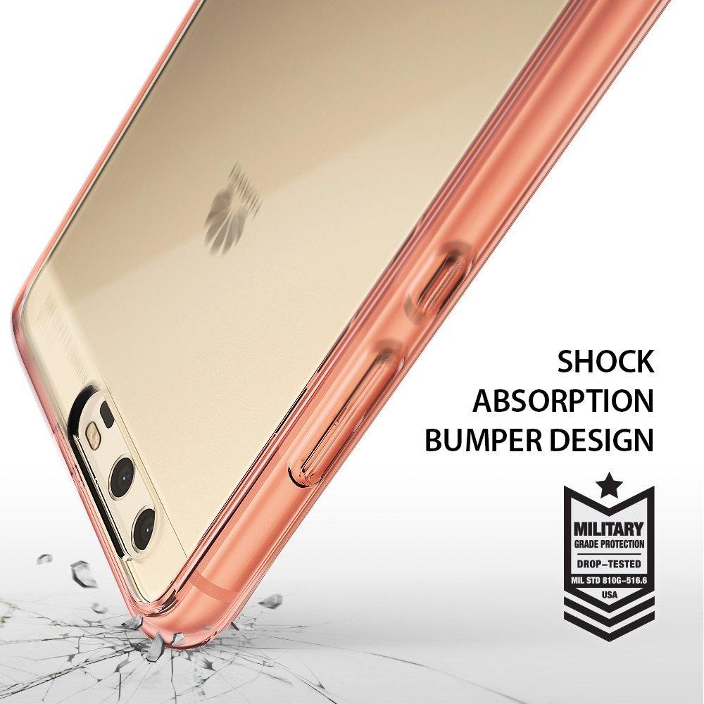Rearth Ringke Huawei P10 Plus Case Fusion - Rose Gold