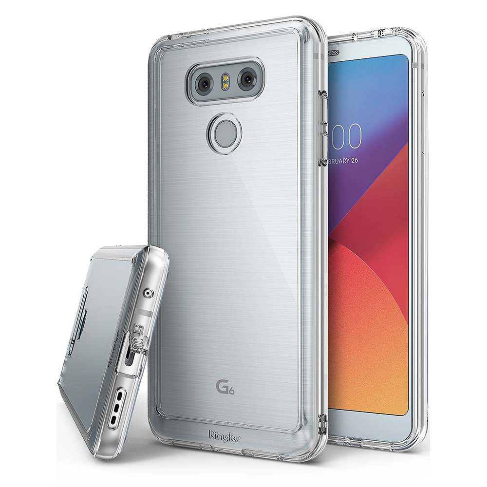 Ringke LG G6 Fusion Hybrid Case Casing Cover - Clear
