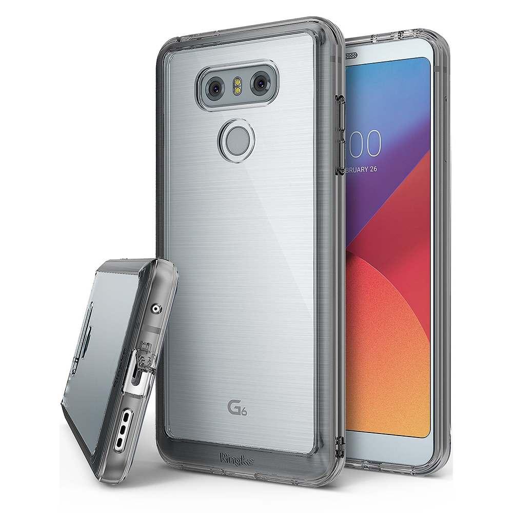 Ringke LG G6 Fusion Hybrid Case Casing Cover - Smoke Black