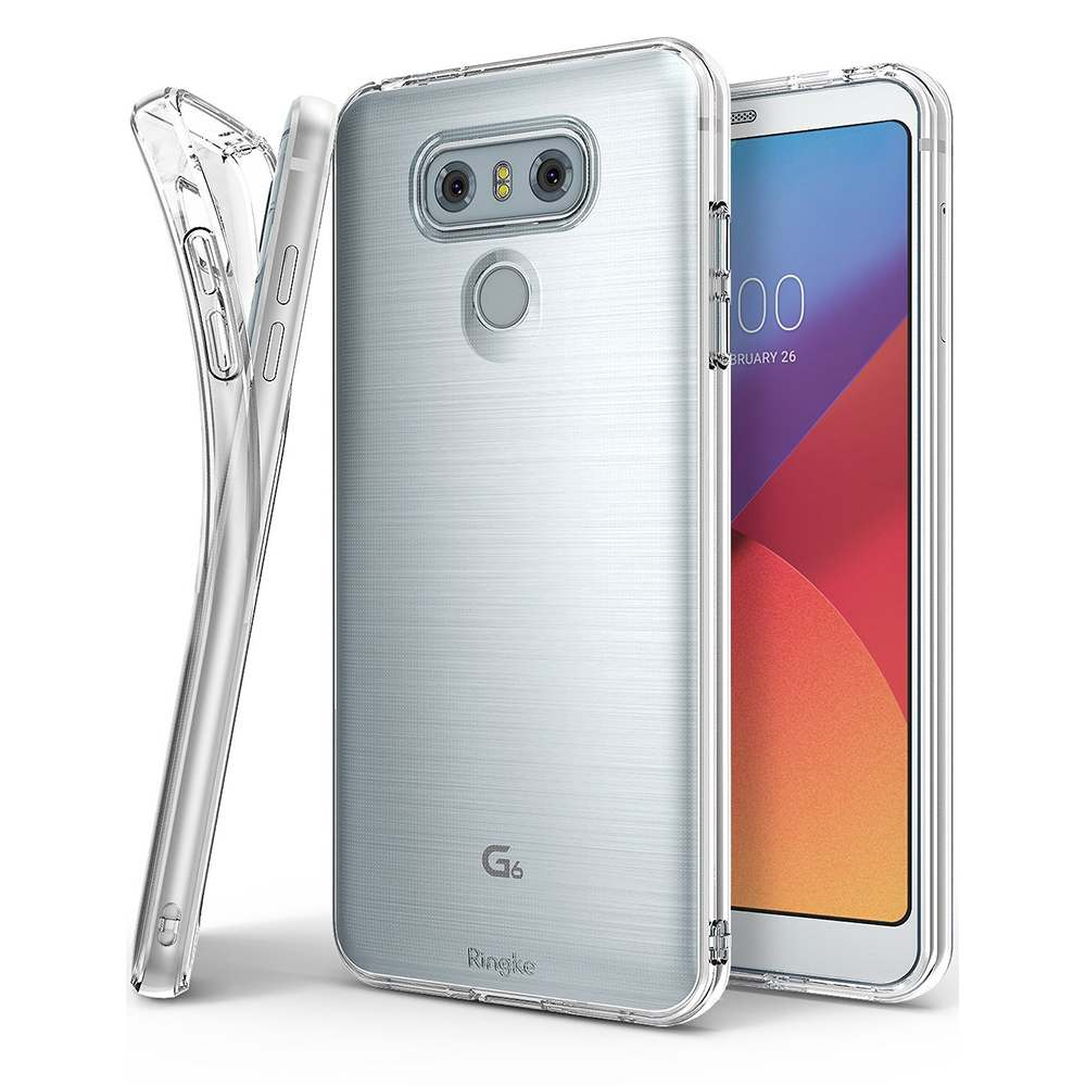 Ringke LG G6 Air Soft Case Casing Cover - Clear