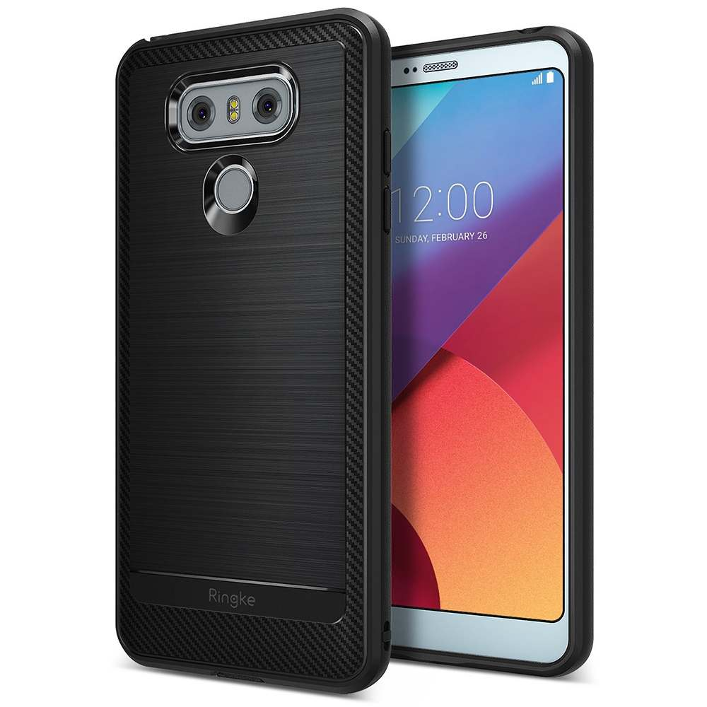 Ringke LG G6 Onyx Soft Case Casing Cover - Black