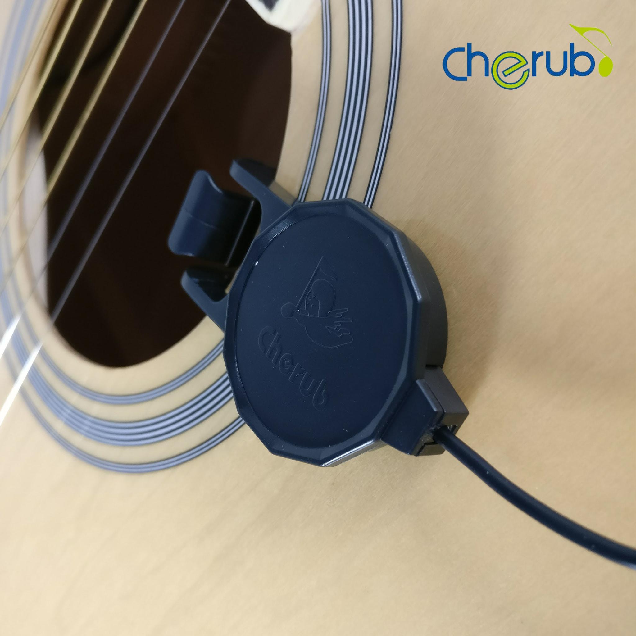 Pickup Gitar Akustik, Klasik, dan Ukulele Clip - On Cherub WCP - 60G - Blanja.com