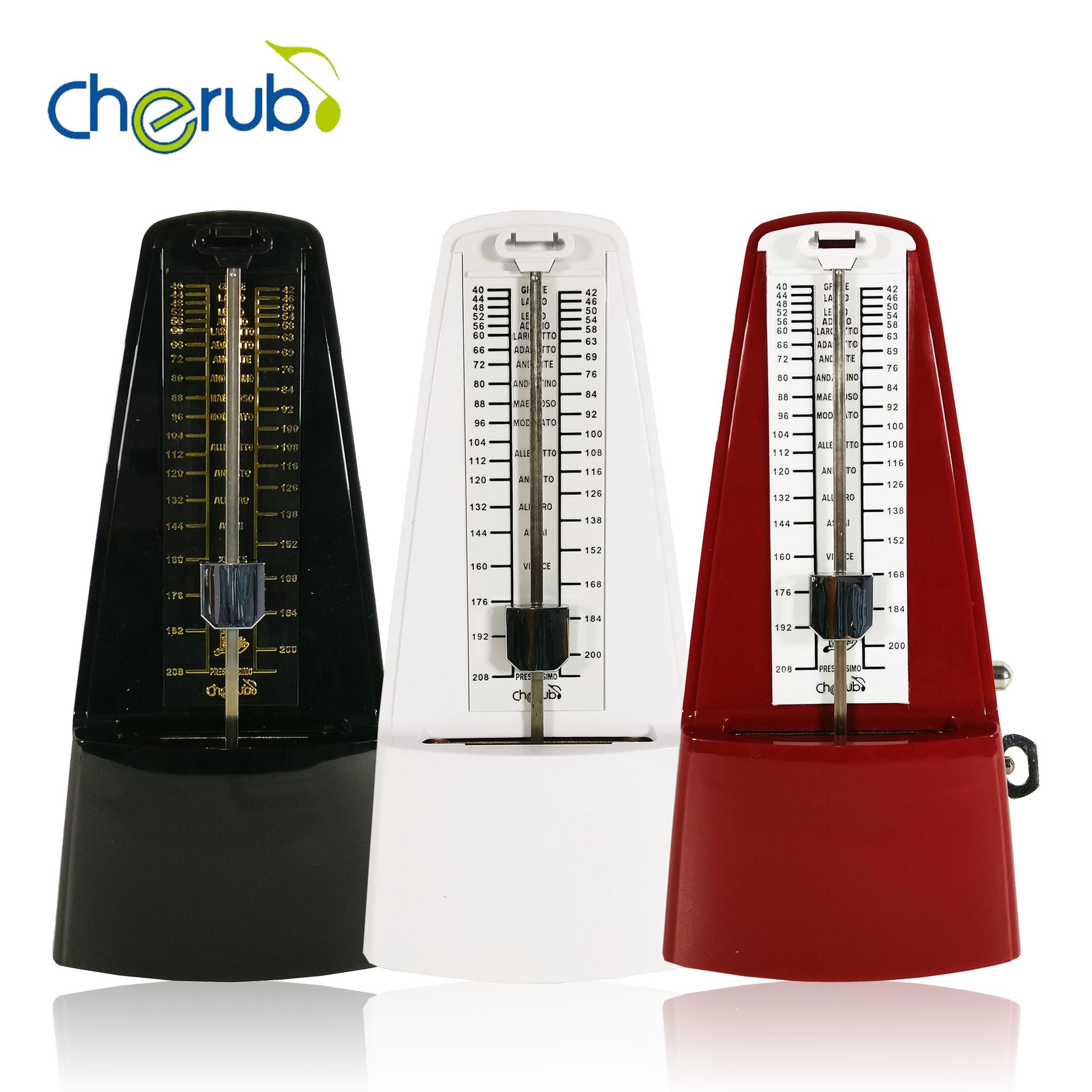 harga Metronome Mekanik Cherub Wsm - 330 - Putih Blanja.com