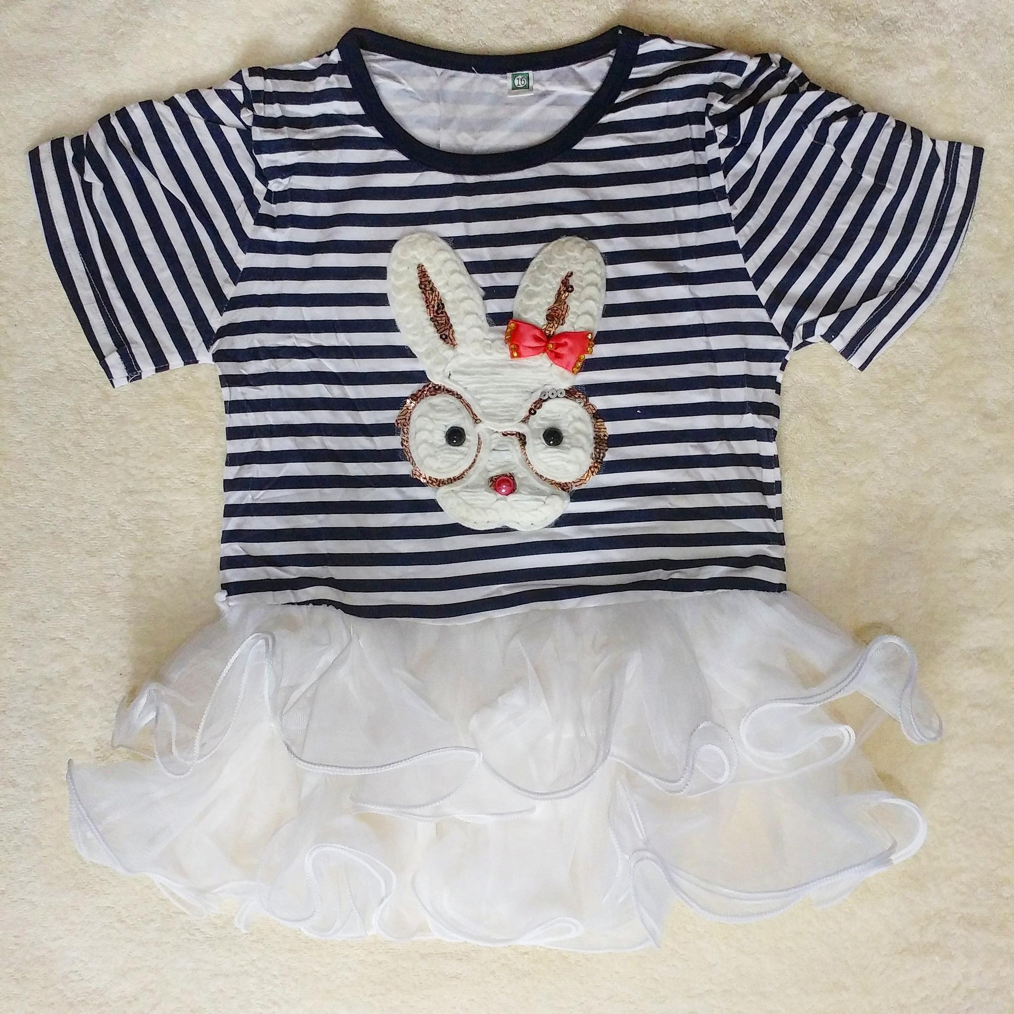 Jual Dress Tutu Baby Bayi Import Premium Quality Rattle Hey Pop Out Bunny Tee Kaos Anak