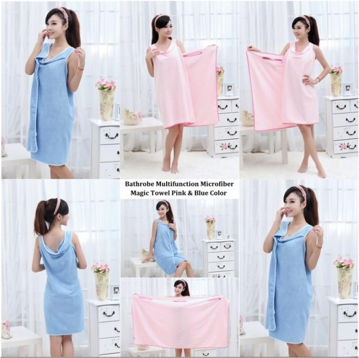 MULTIFUNGSI Lucky Tokopedia Source · Jual BAJU HANDUK KIMONO MANDI DASTER TOWEL WEARABLE .