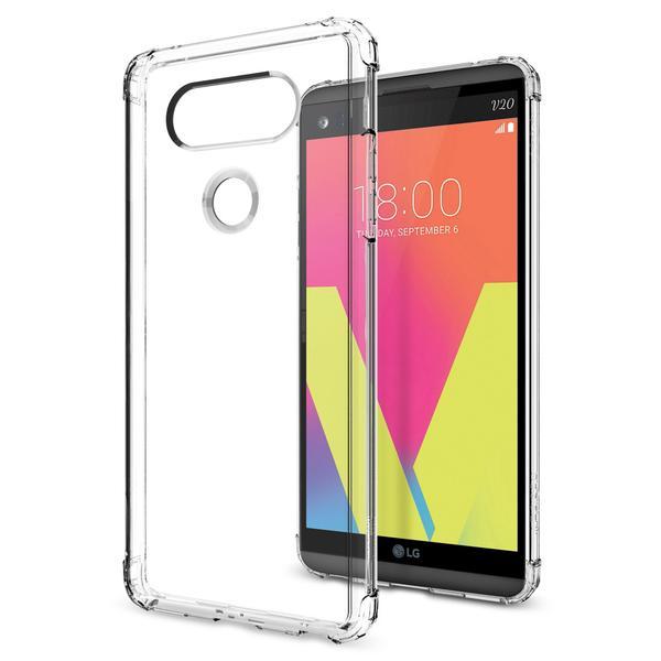 Spigen LG V20 Soft Hard Hybrid Case Crystal Shell - Crystal Clear