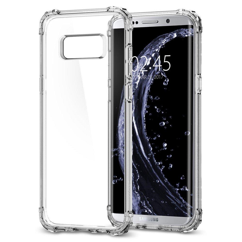 Spigen Samsung Galaxy S8 Soft Hard Case Crystal Shell - Crystal Clear