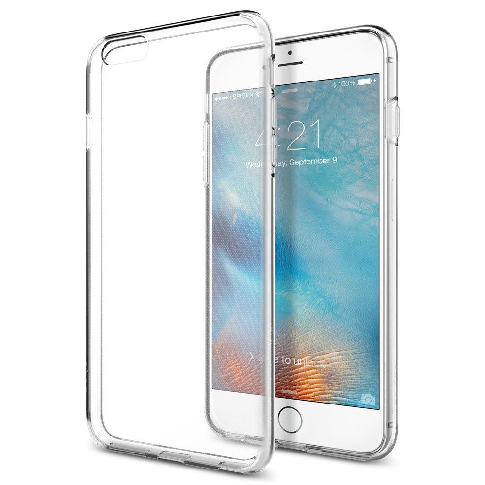 Spigen iPhone 6 Plus - 6S Plus Case Liquid Crystal Casing - Clear