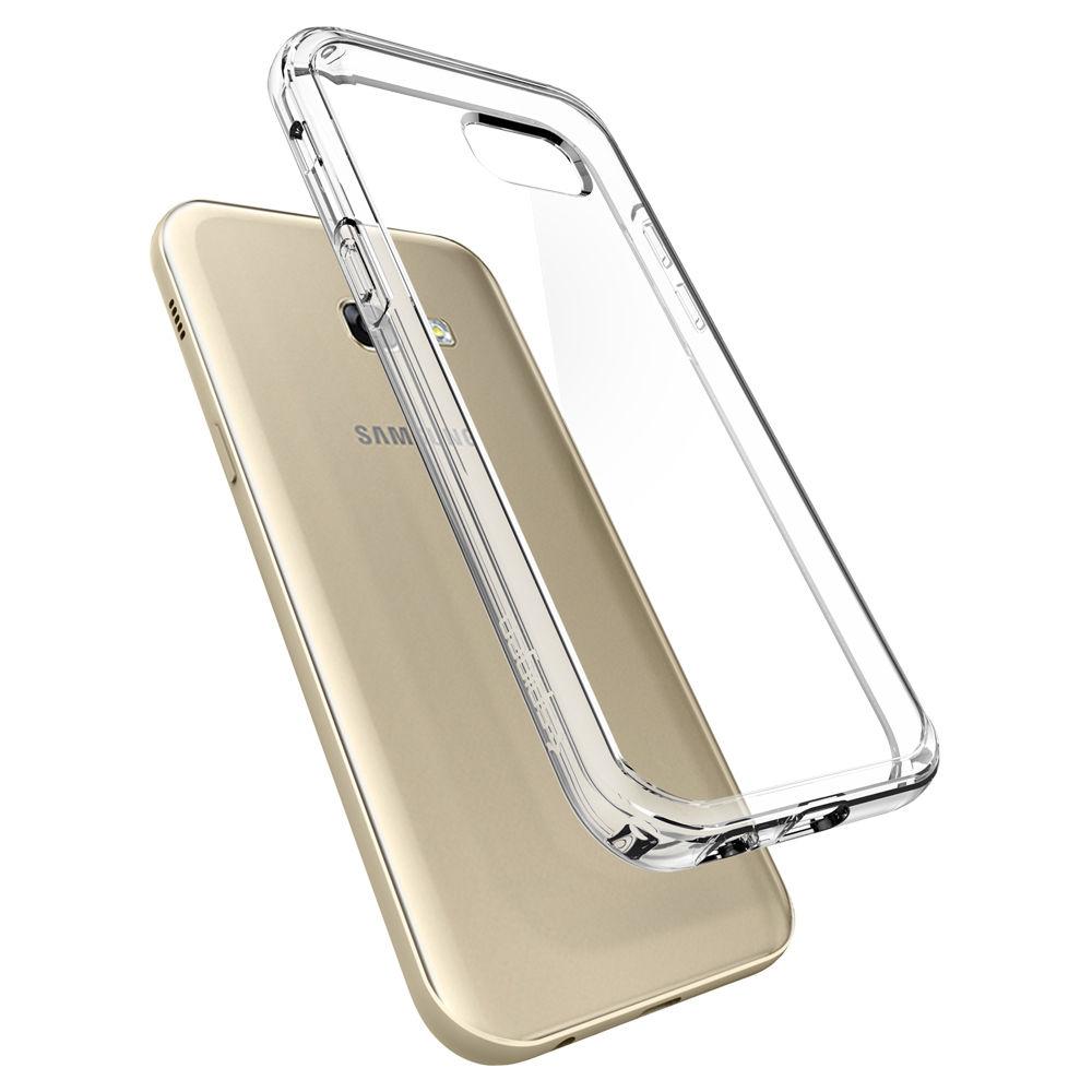 Spigen Samsung Galaxy A7 2017 Case Ultra Hybrid Casing - Crystal Clear