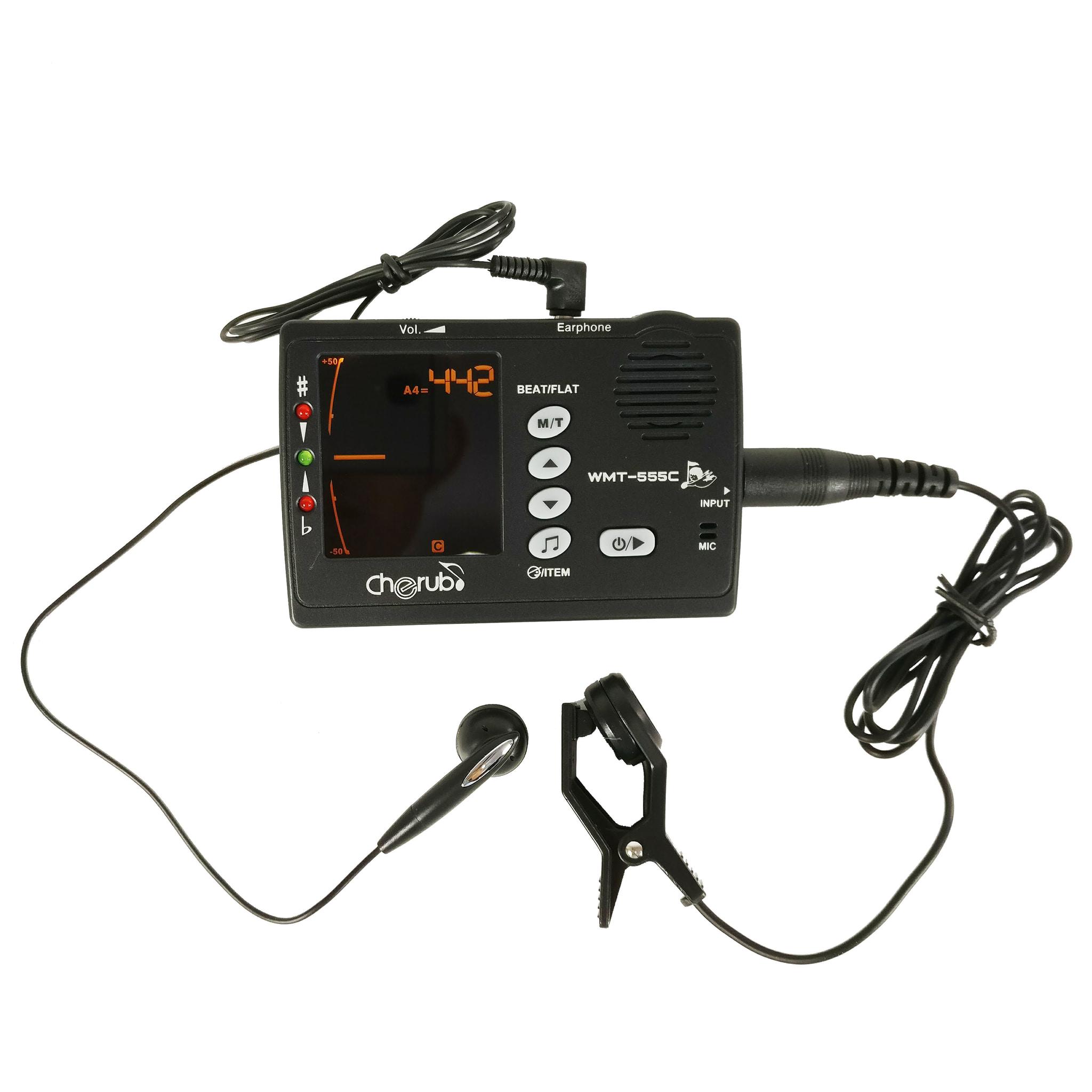 harga 3 In 1 Metronome, Tuner, Dan Tone Generator Cherub Wmt - 555c (+bonus) Blanja.com